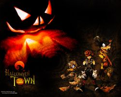 Halloween Town Kingdom Hearts by Wild-Espy