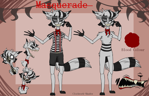 Masquerade Character Reference by Clockwork-Shadow