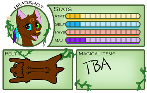 Ember's Magic Tracker by Tranquil-Pond