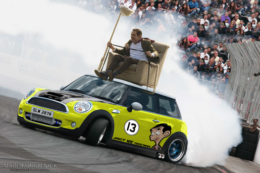 Virtual Tuning: Mini Cooper S - Mr.Bean Edition by rubenick