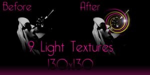9 Light Textures 130x130 by crunchBy