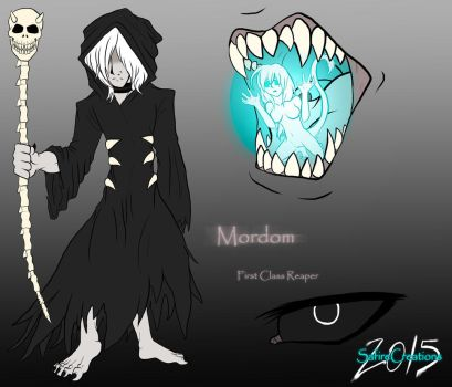Grim Reaper   |M o r d o m| New O.C!!! by SafireCreations
