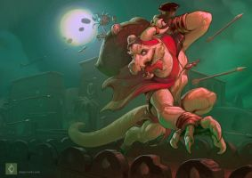 The Great Sirocco's Grand Heist by CindyWorks