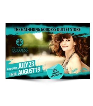 The Gathering Goddess flyer by tale026