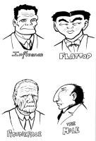 Dick Tracy villains 1 by SethWolfshorndl