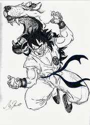 ROGA FUFU KEN!!! (WOLF FANG FIST!!!) by DragonFistArtist900