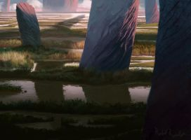 Swamps of  Giants by Raedrob