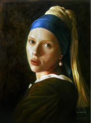 Girl With a Pearl Earring by ForlornExistence