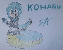 Sonic OC: Koharu the Lamia by Pokatopia141