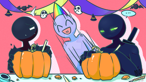 Dojo Halloween Collab Intermission-my part by MayCyan