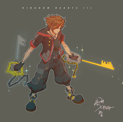 KH3 by thunderking