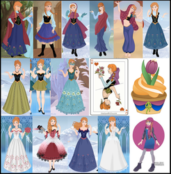 Anna Collage by M-Mannering
