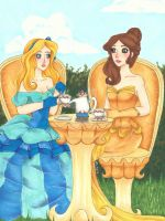 Tea Party by chelleface90