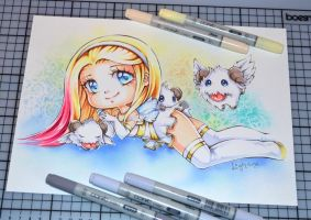 Angel Lux with Poros by Lighane