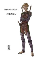 Athenril - Commission by shrouded-artist