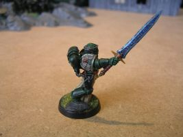 Captain Titus Justinian (of 3rd company) by Nik0410