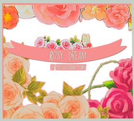 Rosy dream PNG pack by pustakkeramzytowy