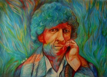4th Doctor Tom Baker by GermanCompanion