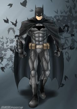 Batman by shamserg