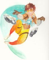 Overwatch Tracer by 11Pika11