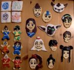 Avatar Cookies by xTamsinx