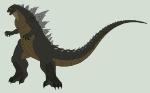 Godzilla King of the Monsters redesign by Pyrus-Leonidas