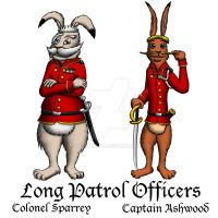 Orlando's Long Patrol - the Officers by DCLeadboot