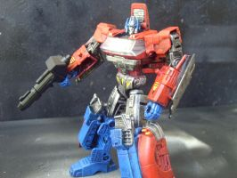 Transformers Orion Pax Custom Repaint by Segerev