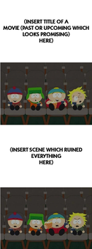 South Park Kids Reactions To Movie Meme by MarioStrikerMurphy
