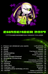 Chasember Art Challenge! by CyaneWorks