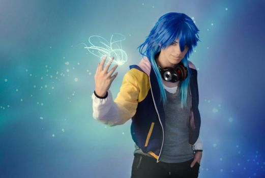 DRAMAtical Murder - Sly Blue by DeathWrathAngel