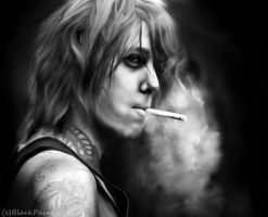 +Just Like the Cigarettes Hurt+ by BlackPaintedEyes