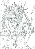 goku inked by THEGODSLAYER91
