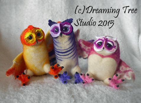 The Owlie Crew by CozmicDreamer