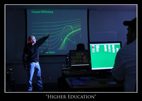Higher Education by Factor---