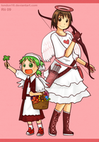 Yotsuba and Valentines by london16