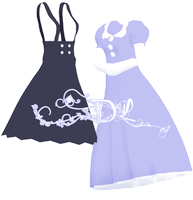 - MMD DL - Dresses by NoUsernameIncluded