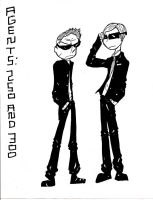 Agents: 300 and 250 by Karmation