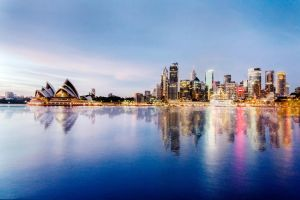 Sydney Reflections by TarJakArt