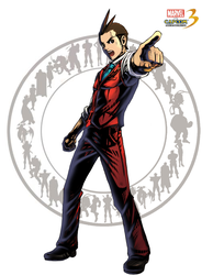 Apollo Justice MVC3 by Archaois