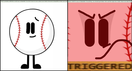 Baseball Reacts To Comments by Sugar-CreatorOfSFDI