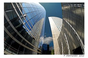 la Defense Valmy IV by bracketting94