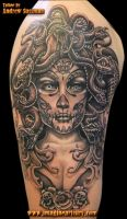 day of the dead medusa by asussman