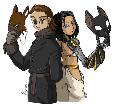 Collab - Isis and Oakly by Riyami