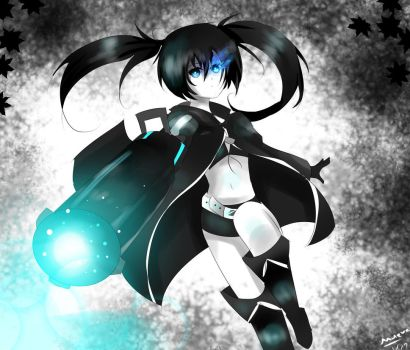 Black Rock Shooter (again) by Maeveycorn360