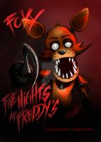 Five Nights at Freddys Fanart: Foxy by Ceramir