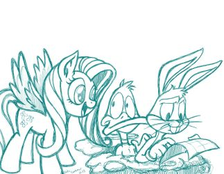 Wrong Turn at Albuquerque (sketch) by LateCustomer