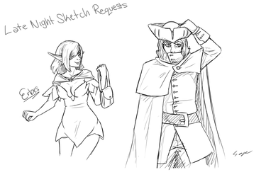 Late Night Sketch Requests by Mr-Sage