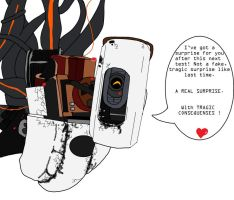 GLaDOS is mean... by Roxas626