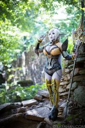 Standing Watch - Dark Elf from Lineage 2 by yayacosplay